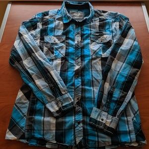 XXL BKE Authentic Fit Long Sleeve Shirt